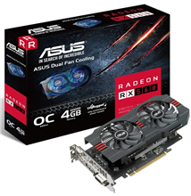 ASUS RX560-O4G-EVO Graphics Card